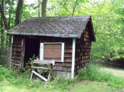13-exterior wood shed