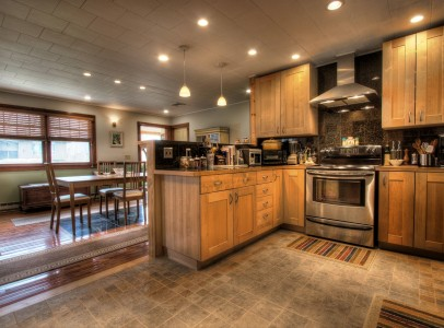 5 kitchen to dining