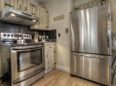 9 stainless appliances