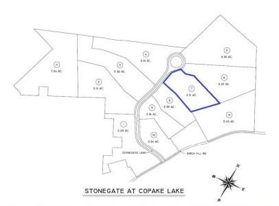 Catmast Lot #7 - 3.1 Acres