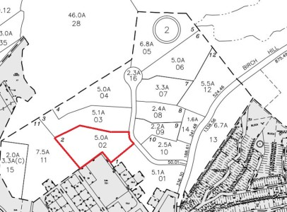 Tax Map for Stonegate at Copake Lake - Lot 2