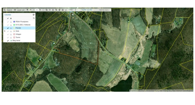 GIS Map - Nolan Parcels