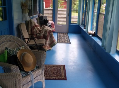 2 enclosed porch